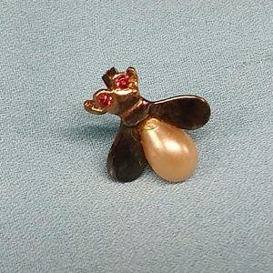 Vintage Bee/Fly Pin or Brooch